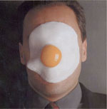 egg on face